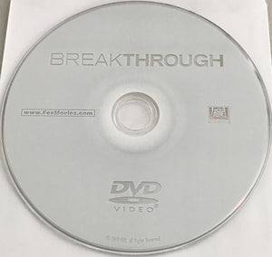 Breakthrough (2019) DVD Media