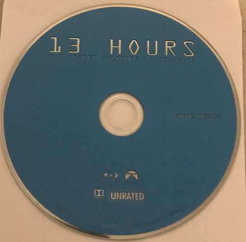 13 Hours of Benghazi Blu-ray  Media