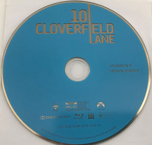 10 Cloverfield Lane  Blu-Ray Media