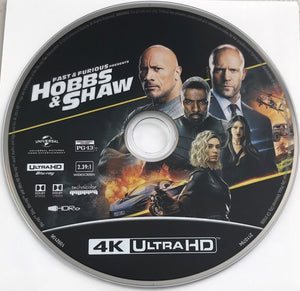 Hobbs & Shaw 4K  media only