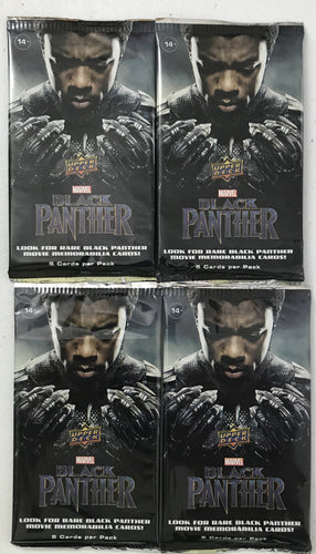 Black Panther Trading Cards - Pack of 4