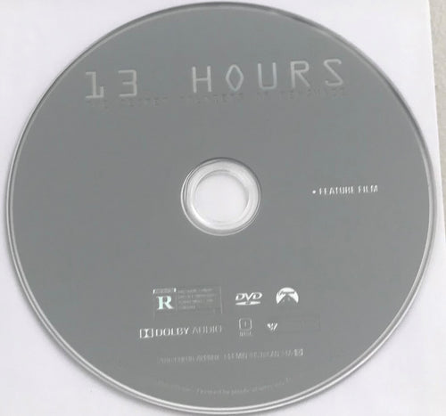 13 Hours of Benghazi DVD Media
