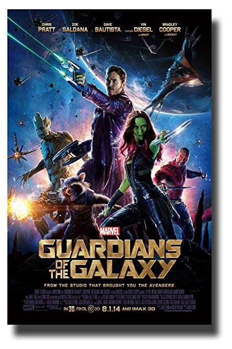 Guardians of the Galaxy 4k   media only