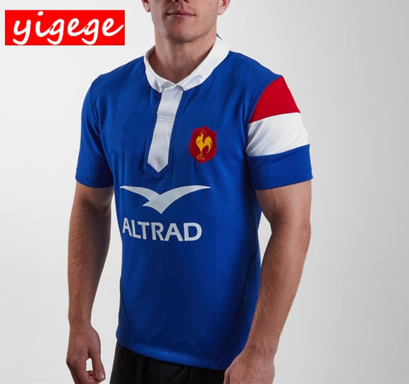 2019 FRANCE HOME/AWAY RUGBY JERSEYS NATIONAL TEAM JERSEY S-3XL