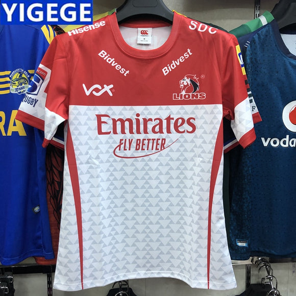 2019 Super Rugby Lions Jersey