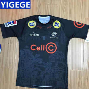 2019 Sharks Super Rugby Home Jersey  S-XL-3XL