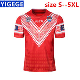 TONGA 2018/19 HOME RUGBY LEAGUE JERSEY S-3XL