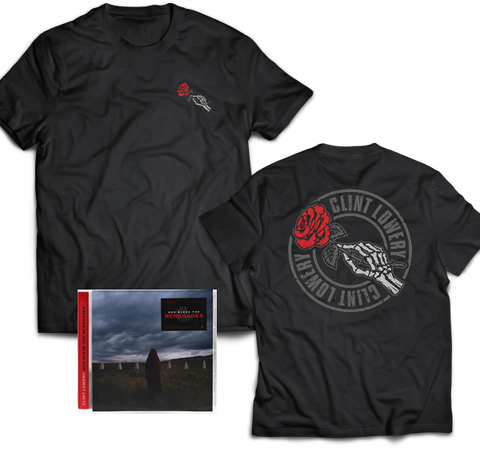 "Clint Lowery: ""God Bless The Renegades"" Condolences T-Shirt + CD Signed Bundle"