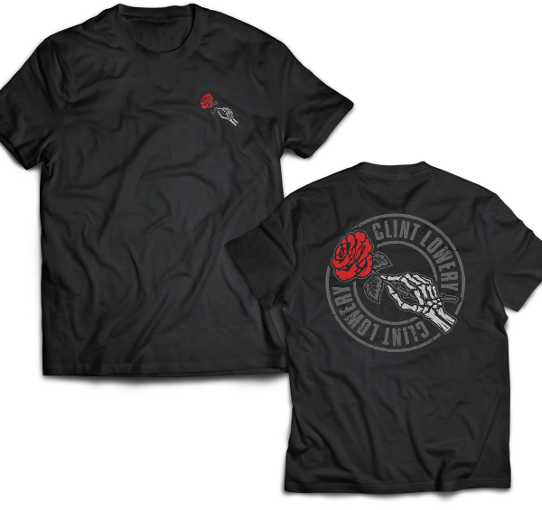 "Clint Lowery: ""God Bless The Renegades"" CONDOLENCES - T-Shirt"