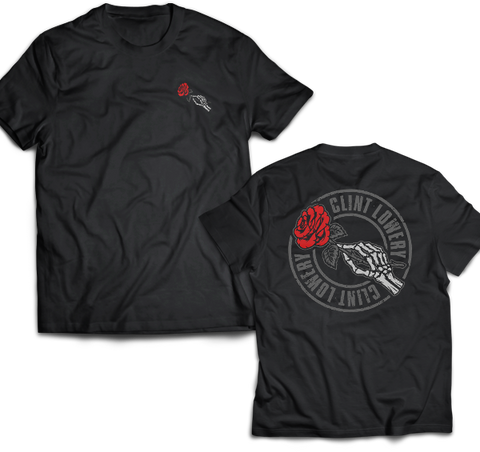 "Clint Lowery: ""God Bless The Renegades"" Condolences T-Shirt"