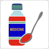 medicine repositionable wall decal