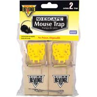 Mouse Trap Snap 2Pk Wood w Padd