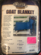 Load image into Gallery viewer, Goat Blanket Lime Med