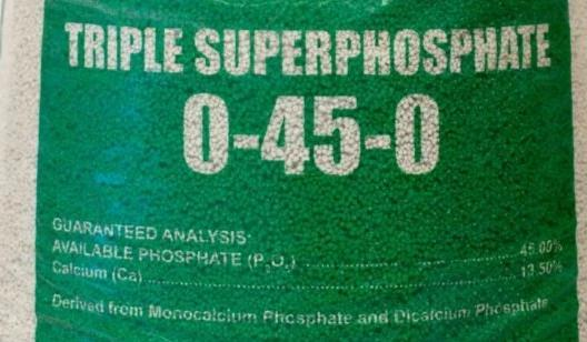 0-45-0 Triple Superphosphate
