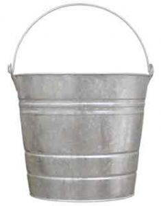 Pail 16 HD quart Galv