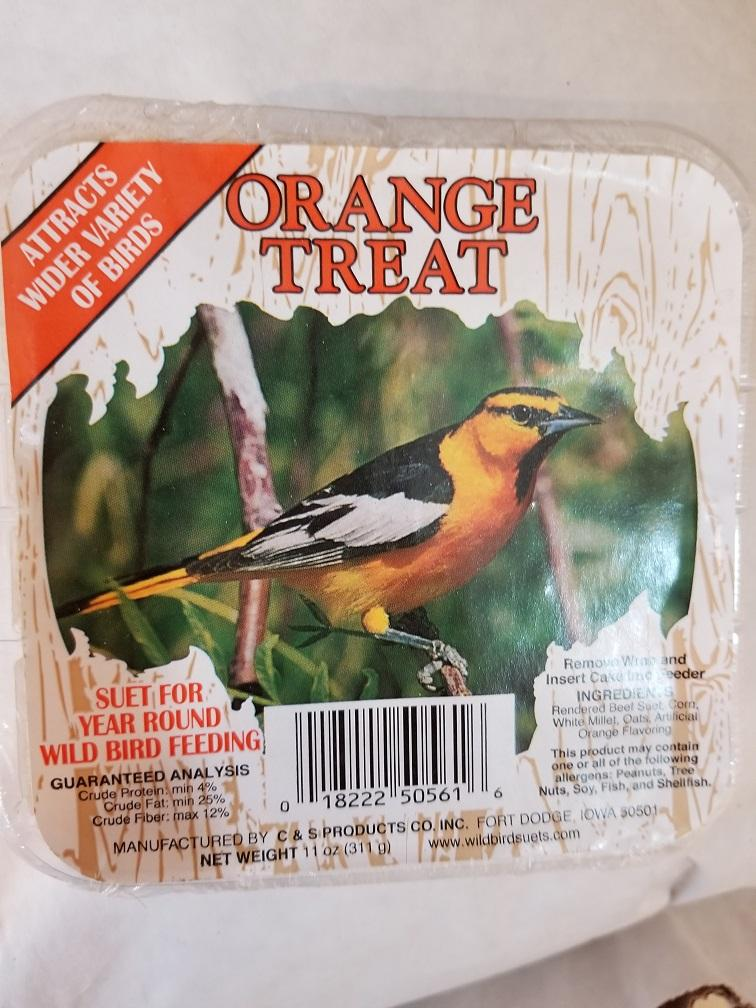 Suet Treat Orange 11oz
