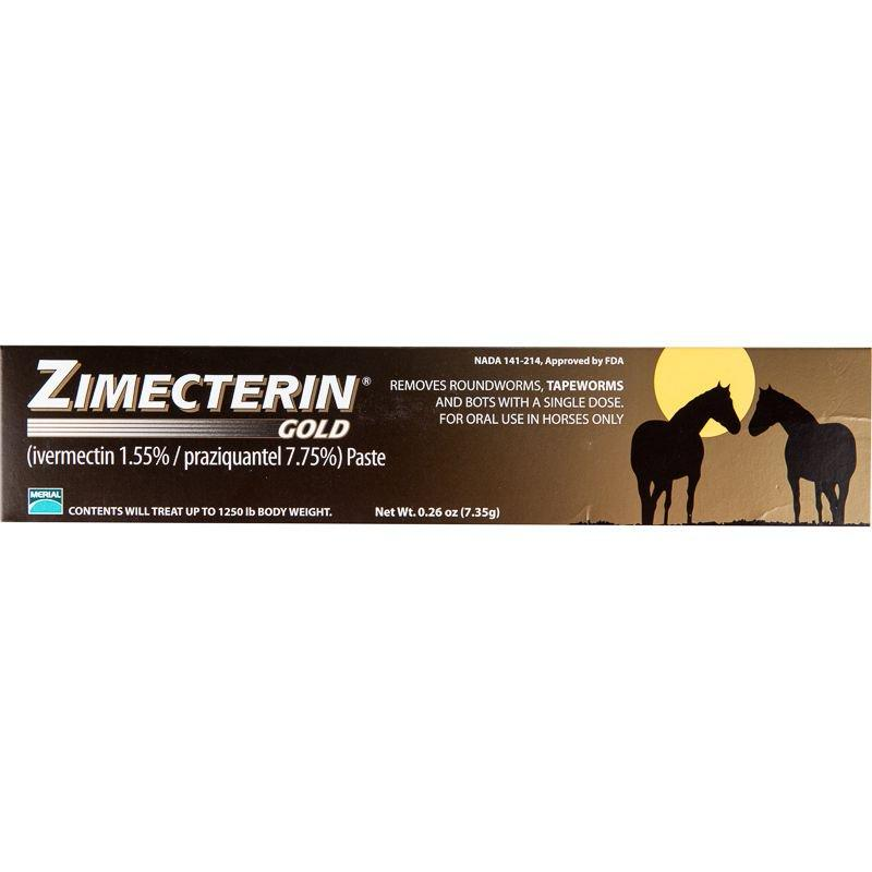 Dewormer Zimecterin Gold Paste