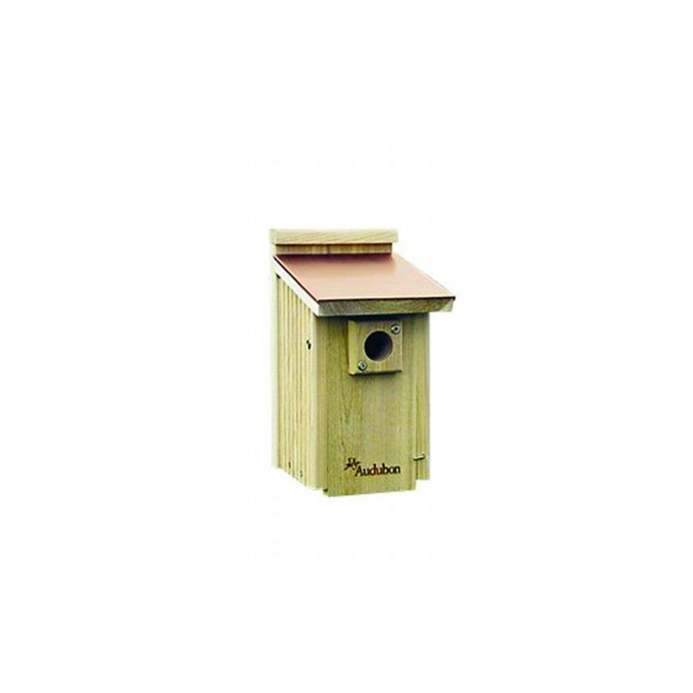 Blue Bird House Copper Top
