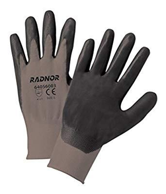Nitrile Palm-Coated Work Gloves