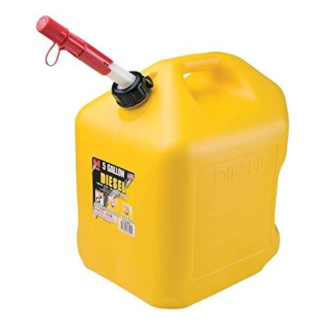 Fuel Can Diesel 5 gal Yellow