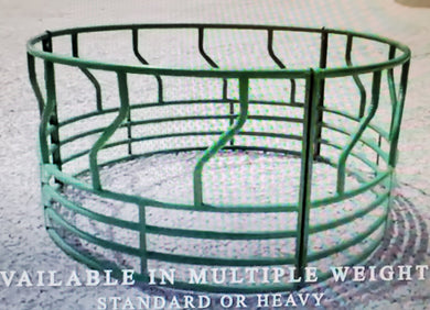 Round Bale feeder S bar Green