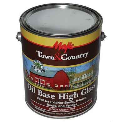 Paint Metal Roof Gallon Red