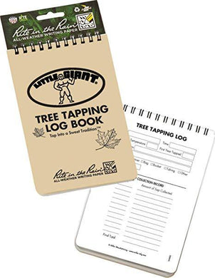 Tree Tapping Log Book