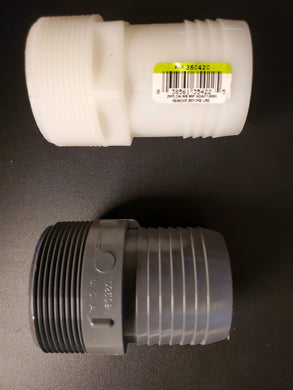 ISP - 2 inch Threaded => Barb