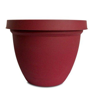 Infinity Pot - Warm Red 8""