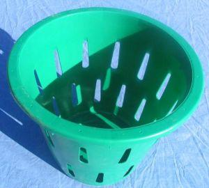 Harvest Basket 5/8 Bushel Green