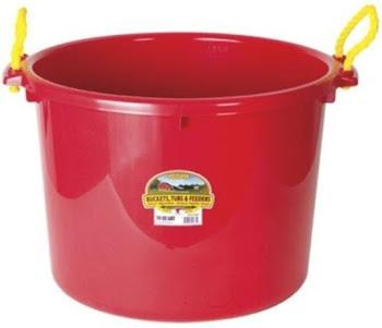 Muck Tub 70 quart Assorted Colr