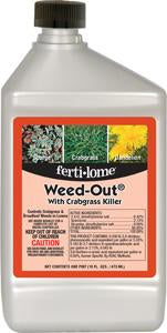 Weed Out Crabgrass Pint