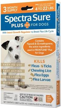 Flea, Tick, Egg, Larva Lice Dog