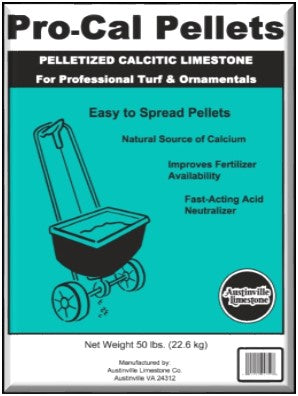 Lime Pelletized Calcitic 50#