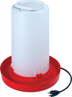 Heated Waterer 3 gal Poultry