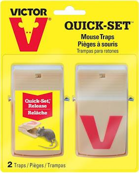 Mouse Traps Victor Quick Set