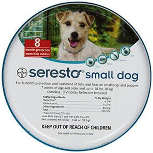 Flea & Tick Collar Seresto Sm D