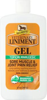 Vet Liniment gel Absorbine 12oz
