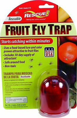 Rescue! Reusable Fruit Fly Trap