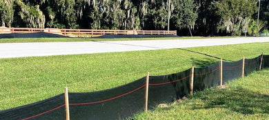 Silt Fence w/ Wood 3'x100'
