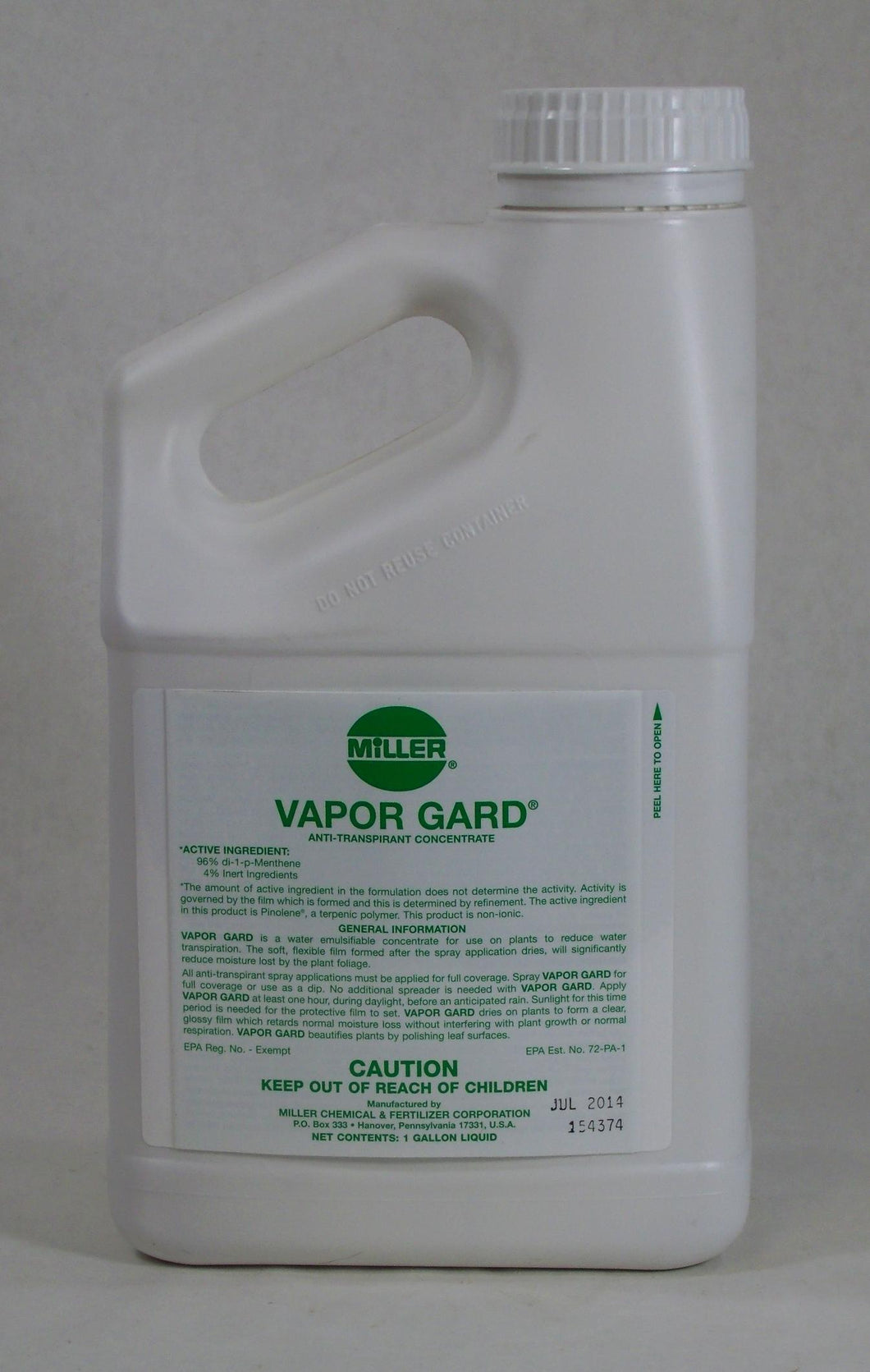 Vapor Guard 2.5 gal