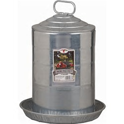 Double wall galv 3 gal fountain