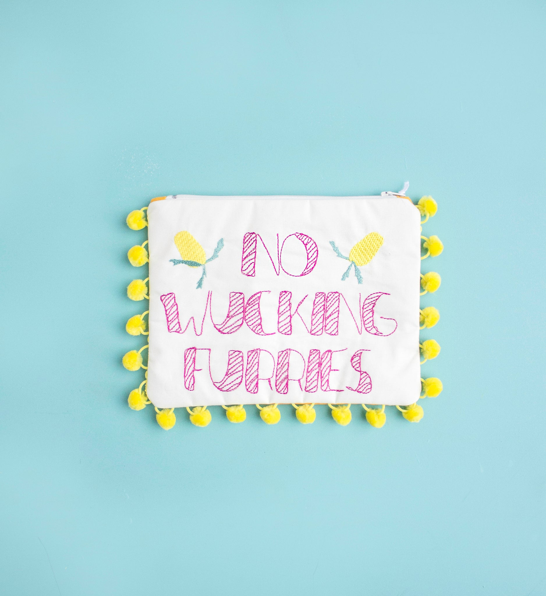 No Wucking Furries Clutch - Handmade by Alice