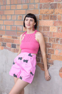 I don't want no Scrub Turkey Shorts - Designed and Handmade by Alice