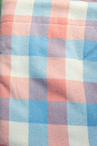 Pink + Blue Pastel Blanket Coat