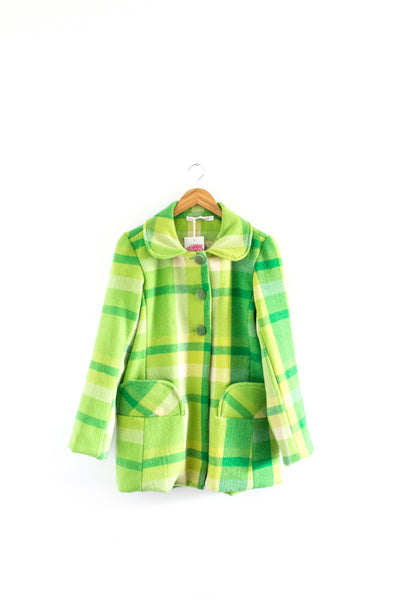 Green Dream Blanket Coat - Only Three Made!