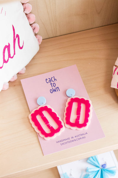 Iced Vovo Earrings - Each to Own x Alice Nightingale Collab