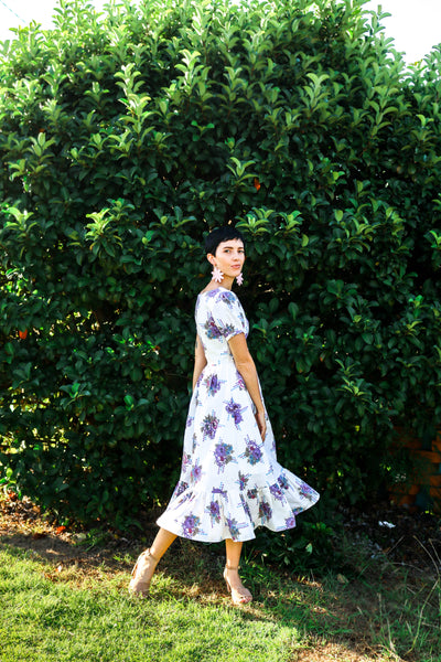 Vintage Floral Dream Dress - Handmade by Alice