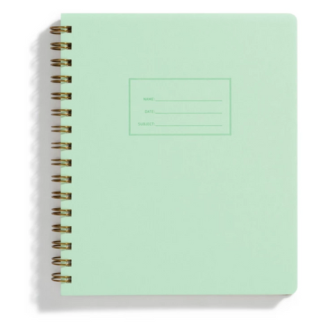 Do the Steps Notebook - Mint