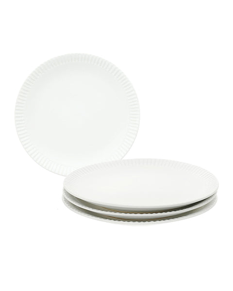 "Ceramic ""Paper"" Plate Large (Set of 4)"